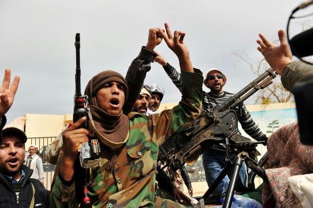 Guerriglieri libici