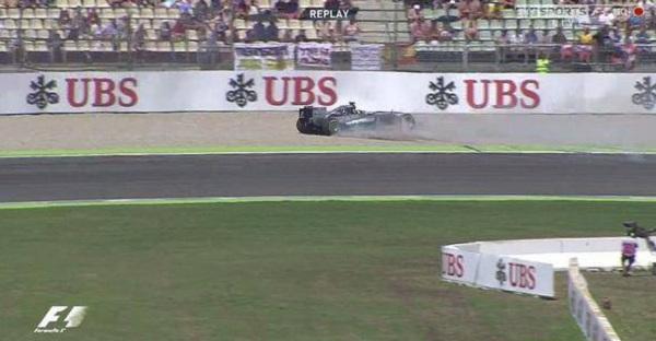 Hamilton prenderà il via alla gara dalla pit lane