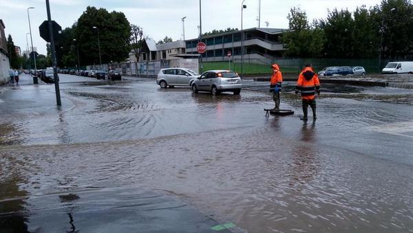La zona di Milano più colpita dal maltempo è il quartiere Niguarda