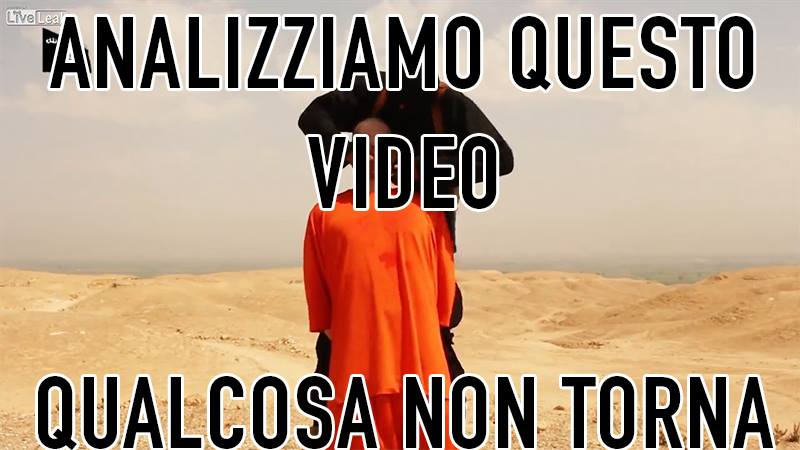 video decapitazione