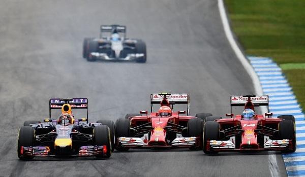 Vettel, Alonso e Raikkonen si dividono la vetta dei piloti più pagati (foto: autoblog.it)
