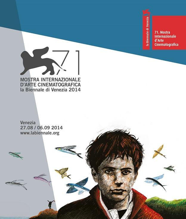 Il logo del Festival di Venezia 2014 (labiennale.org)