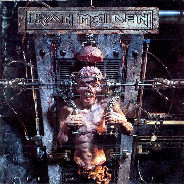"La copertina dell'album degli Iron Maiden ""The X Factor"" (metalinsider.net)"