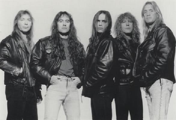 Gli Iron Maiden con Blaze Bayley (decibelmagazine.com)