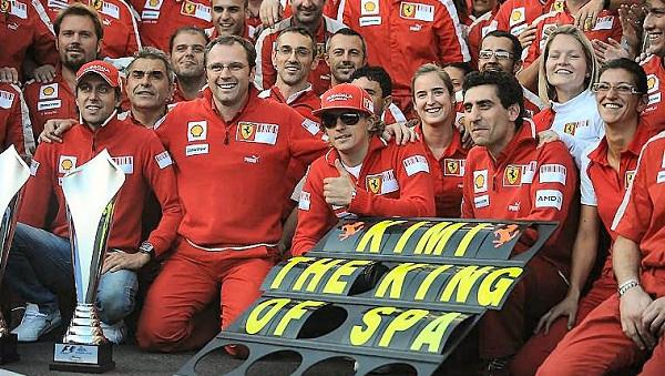 L'ultima vittoria della Ferrari a Spa risale al 2009 (foto: racing-history.de)