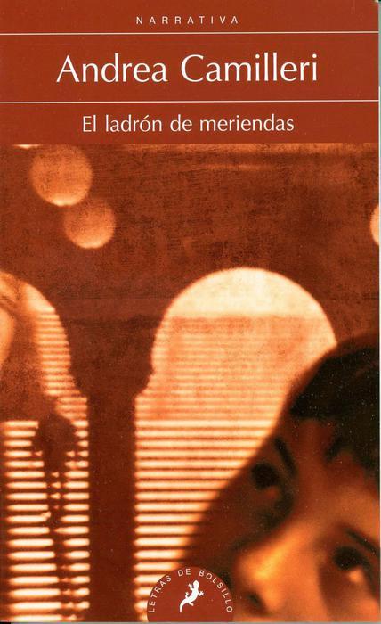 """La copertina spagnola del libro """"Il ladro di merendine"""", Salamandra editore"""