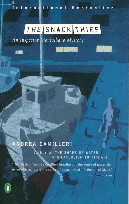 """La copertina americana del libro """"Il ladro di merendine"""", edito da Penguin"""