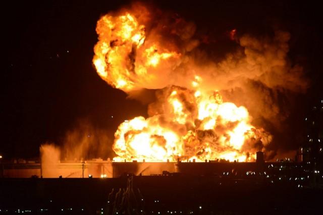 incendio raffineria