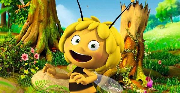 """Uno screenshot del film """"Ape Maia""""  (omaggiomania.com)"""