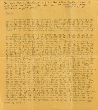 Jack Kerouac lettere