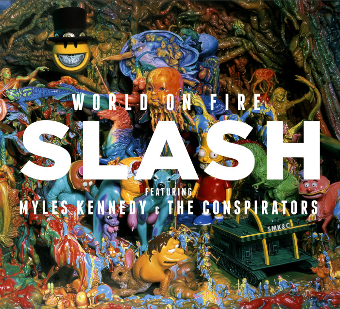 slash copertina world on fire