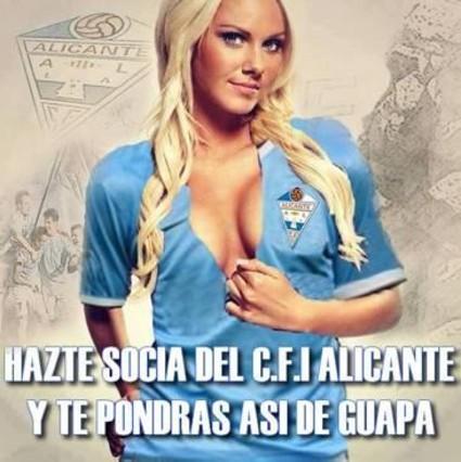 Lo spot del club Alicante