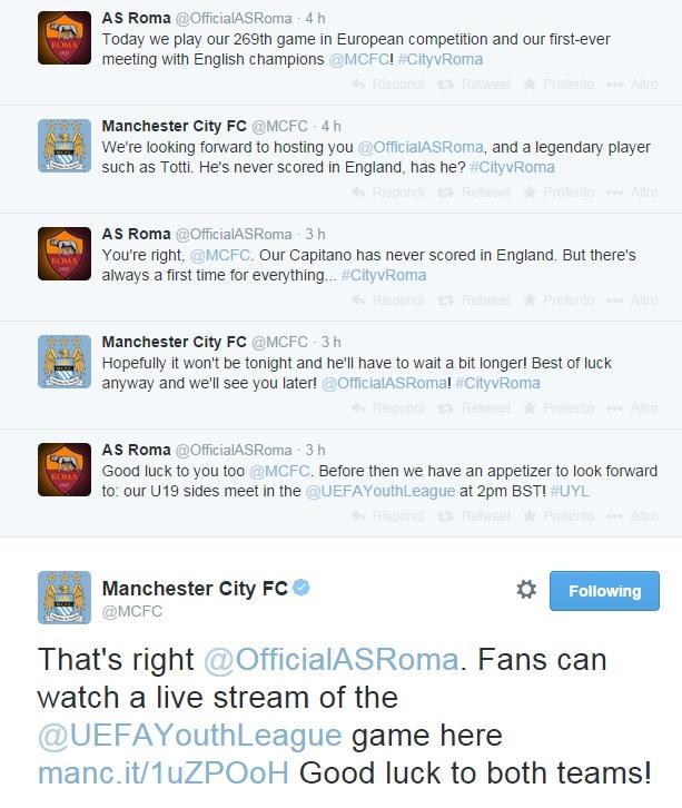 twitter-botta-risposta-manchester-city-roma-totti