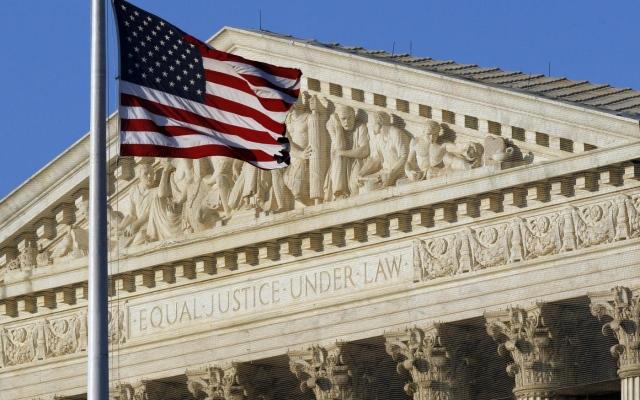 Il palazzo della Corte Suprema degli Usa
