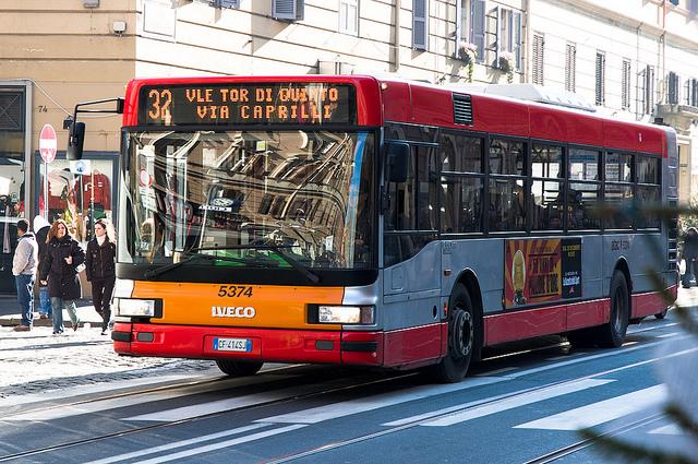 Bus 32, Rome, Italy