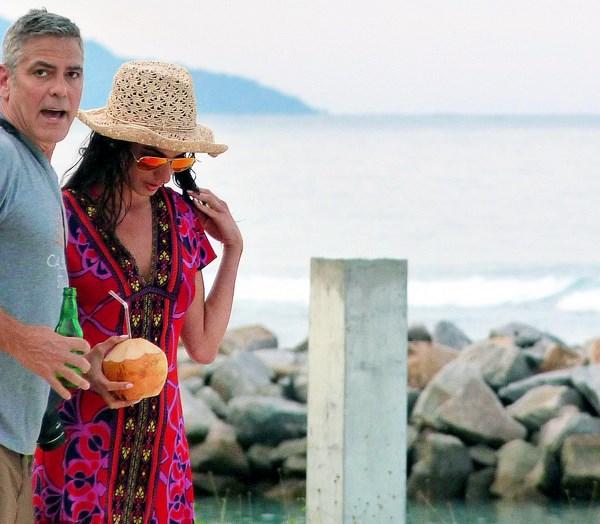 George Clooney e Amal Amuddin