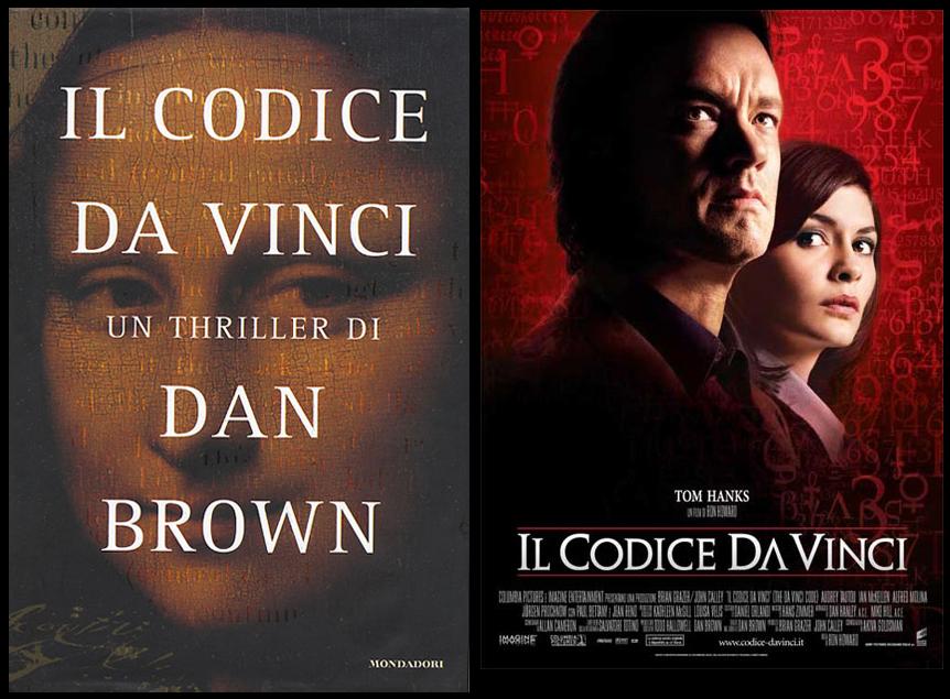 """Il Codice da Vinci di Dan Brown è diventato, nel 2004, un vero e proprio """"caso editoriale"""""""