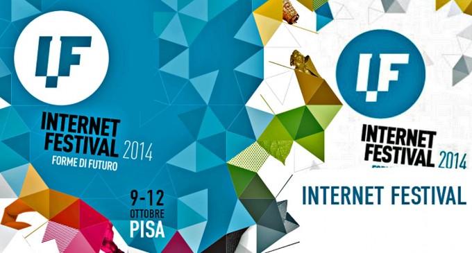 All'interno della COOLT, la settimana della cultura in Toscana, in programma anche l'Internet Festival di PIsa, dal 9 al 12 ottobre