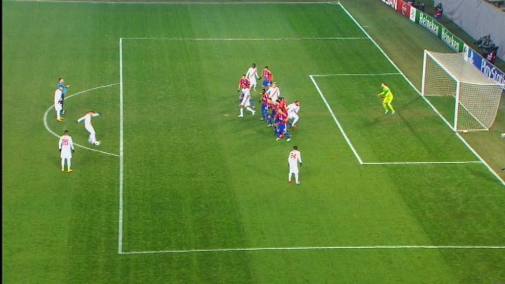 Video gol cska mosca – roma 1-1: totti, che punizione. pari-beffa al