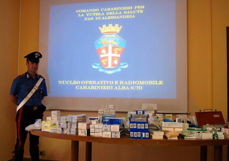 furto medicine ospedali piemonti