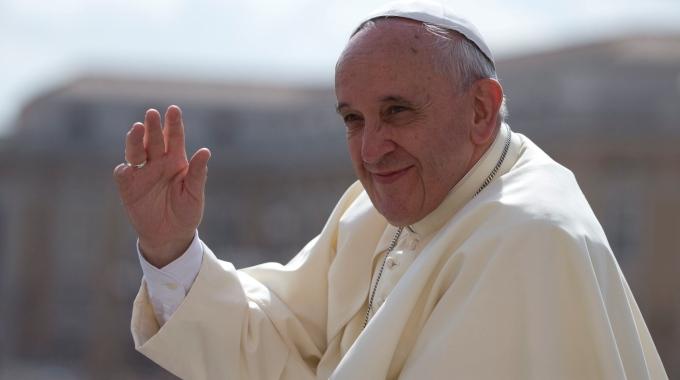Papa Francesco (fonte foto: www.quotidiano.net)