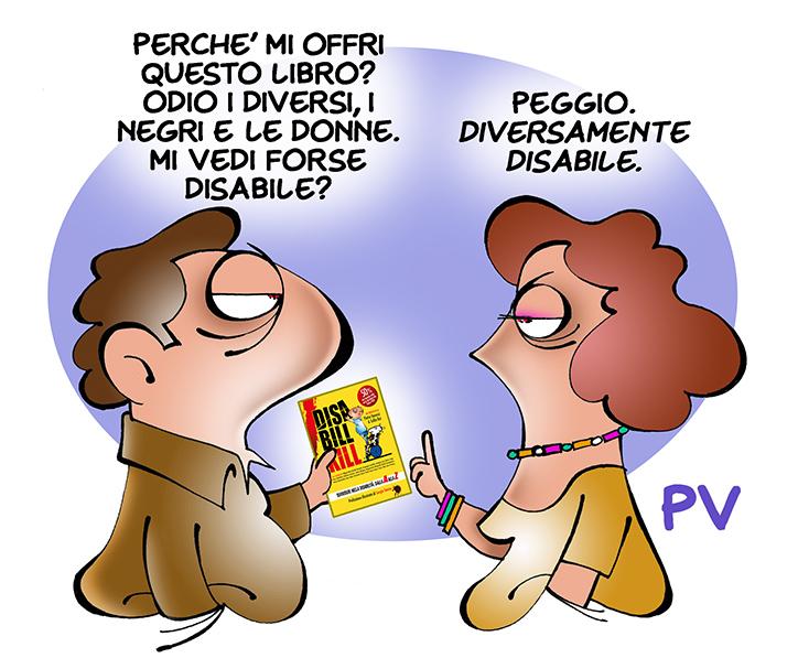 Una delle vignette di Pietro Vanessi (Fonte foto: www.unavignettadipv.it)
