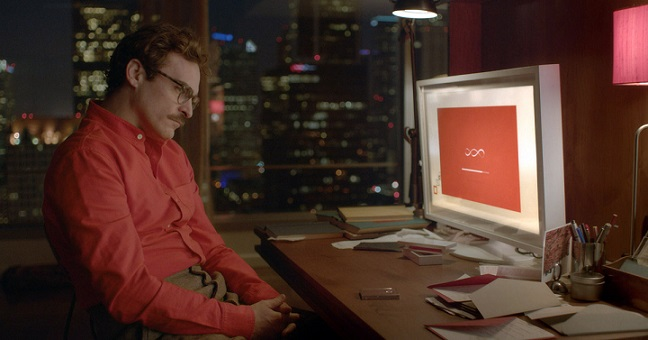 "Joaquin Phoenix in ""Her"" di Spike Jonze (kinoreview.it)"