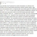bufala facebook privacy