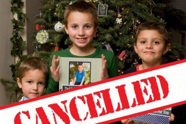 I tre bambini a cui è stato cancellato il Natale (Fonte foto: www.mirror.co.uk)