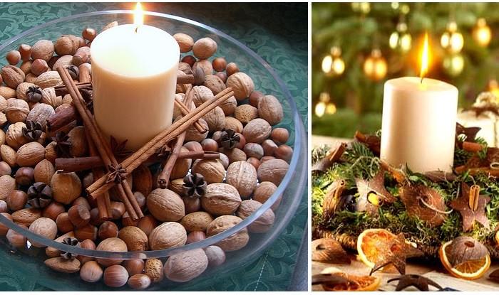 Decorazioni fai da te per la tavola di natale - Addobbi natalizi sulla tavola ...