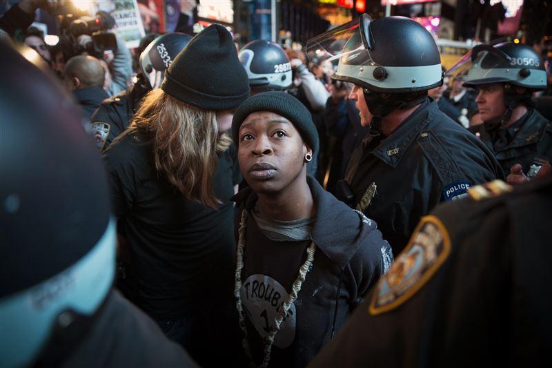 new york proteste