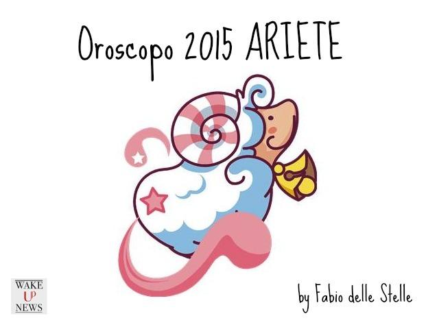oroscopo 2015 ariete
