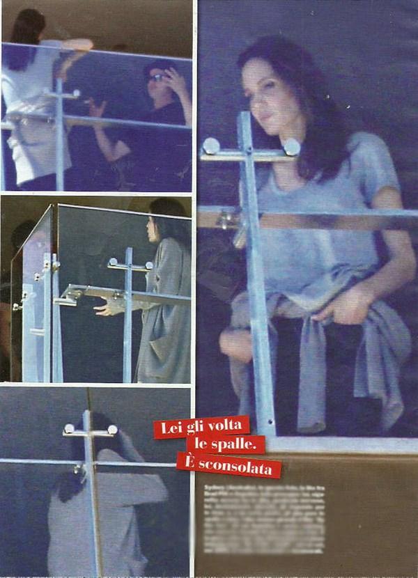 La lite tra Angelina Jolie e Brad Pitt (fonte: today.it)