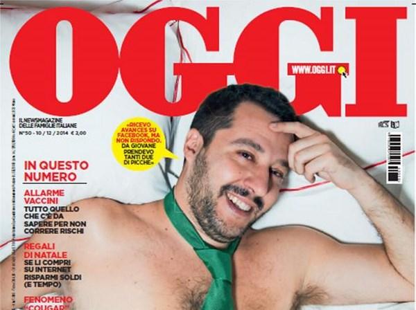 Salvini desnudo (fonte: corriere.it)