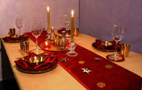Cenone di capodanno dalla tavola al menu per una serata - Apparecchiare una tavola elegante ...