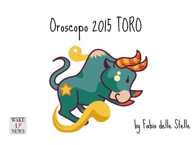 toro oroscopo 2015