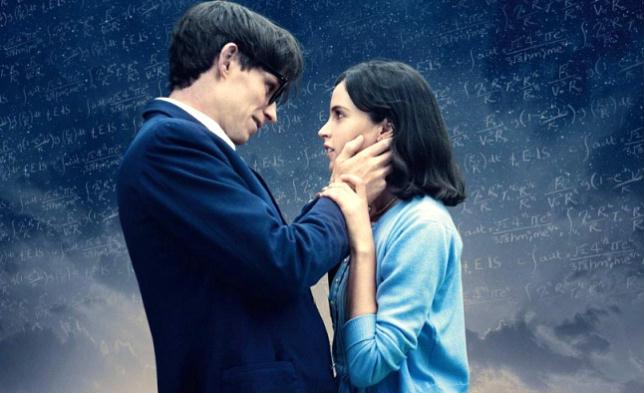 """Eddie Redmayne e Felicity Jones in """"La teoria del tutto"""" (comingsoon.it)"""