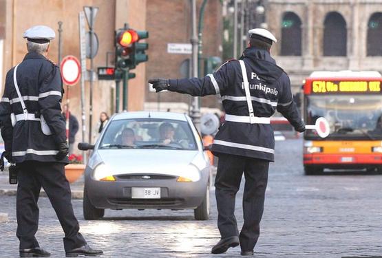 vigili urbani roma