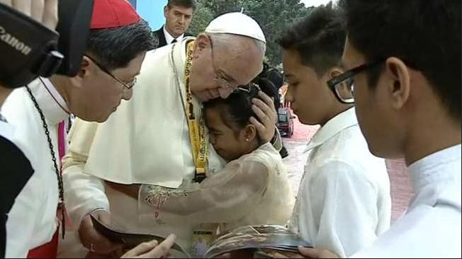 papa Manila bambina