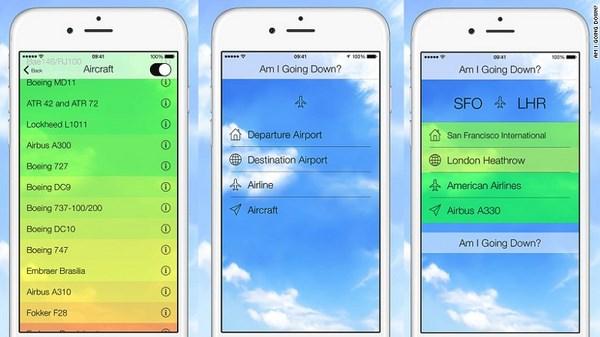 Am I Going Down? L'app contro la paura di volare (fonte: i2.cdn.turner.com)