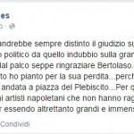 Il post di Paola Nugnes