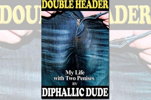 Double Header, il libro di DoubleDickDude (fonte: italia-24news.it)