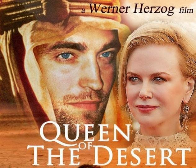 """La locandina di """"Queen of the desert"""", il nuovo film di Werner Herzog (art-et-loisirs.com)"""