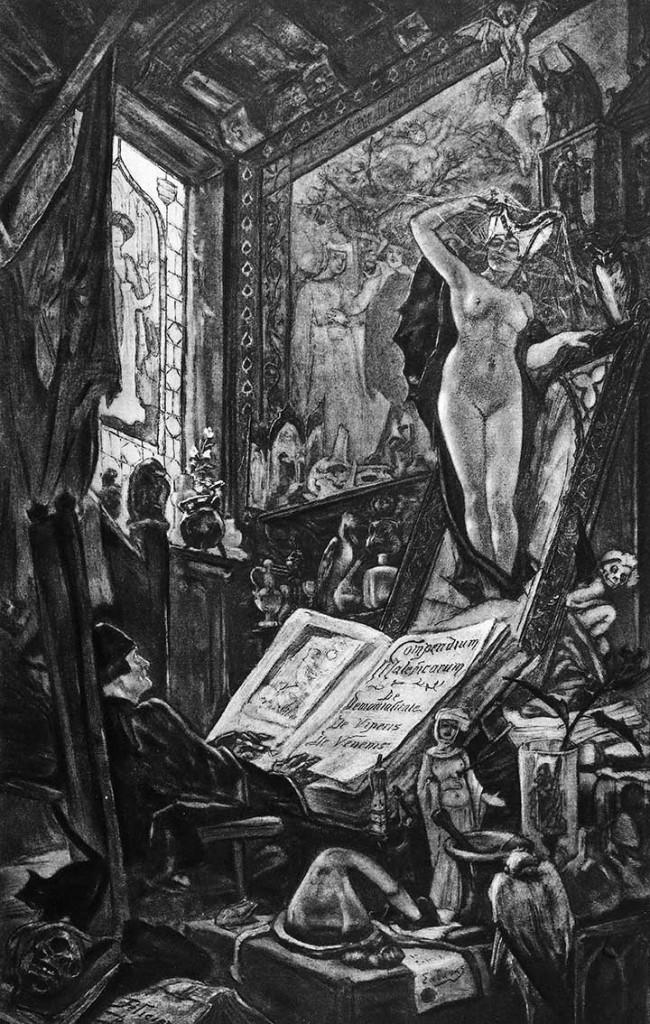 F. Rops, L'Incantation