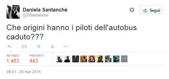 tweet daniela santanchè