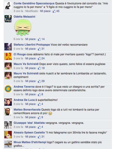 commenti logo Lombardia