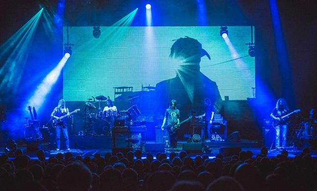 Il palco del tour 2015 di Steven Wilson (stevenwilsonishere.tumblr.com)