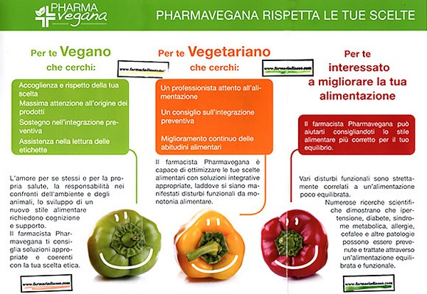 Farmacie dedicate al mondo vegano (fonte: farmaciadiasso.com)