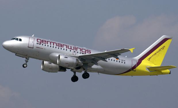 Un airbus della Germanwings (www.attualita.cinquequotidiano.it)