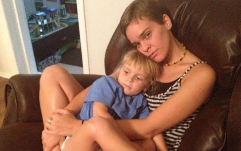 Lacey Spears con il figlioletto Garnett (Fonte foto: www.thedailybeast.com)